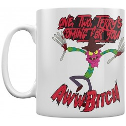 TAZA RICK & MORTY SCARY TERRY TAZAS CINE Y TV