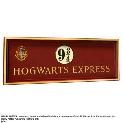 ESCUDO HOGWARTS EXPRESS HARRY POTTER 56X20 MERCHANDISING CINE Y TV HARRY POTTER