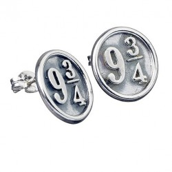 PENDIENTES *PLATA* HARRY POTTER 9 3/4 MERCHANDISING CINE Y TV HARRY POTTER