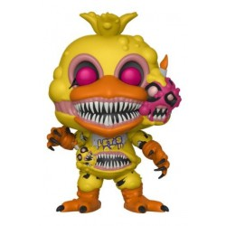 FIGURA POP FNAF VINYL BOOKS: TWISTED CHICA VIDEOJUEGOS FIVE NIGHTS AT FREDDY'S
