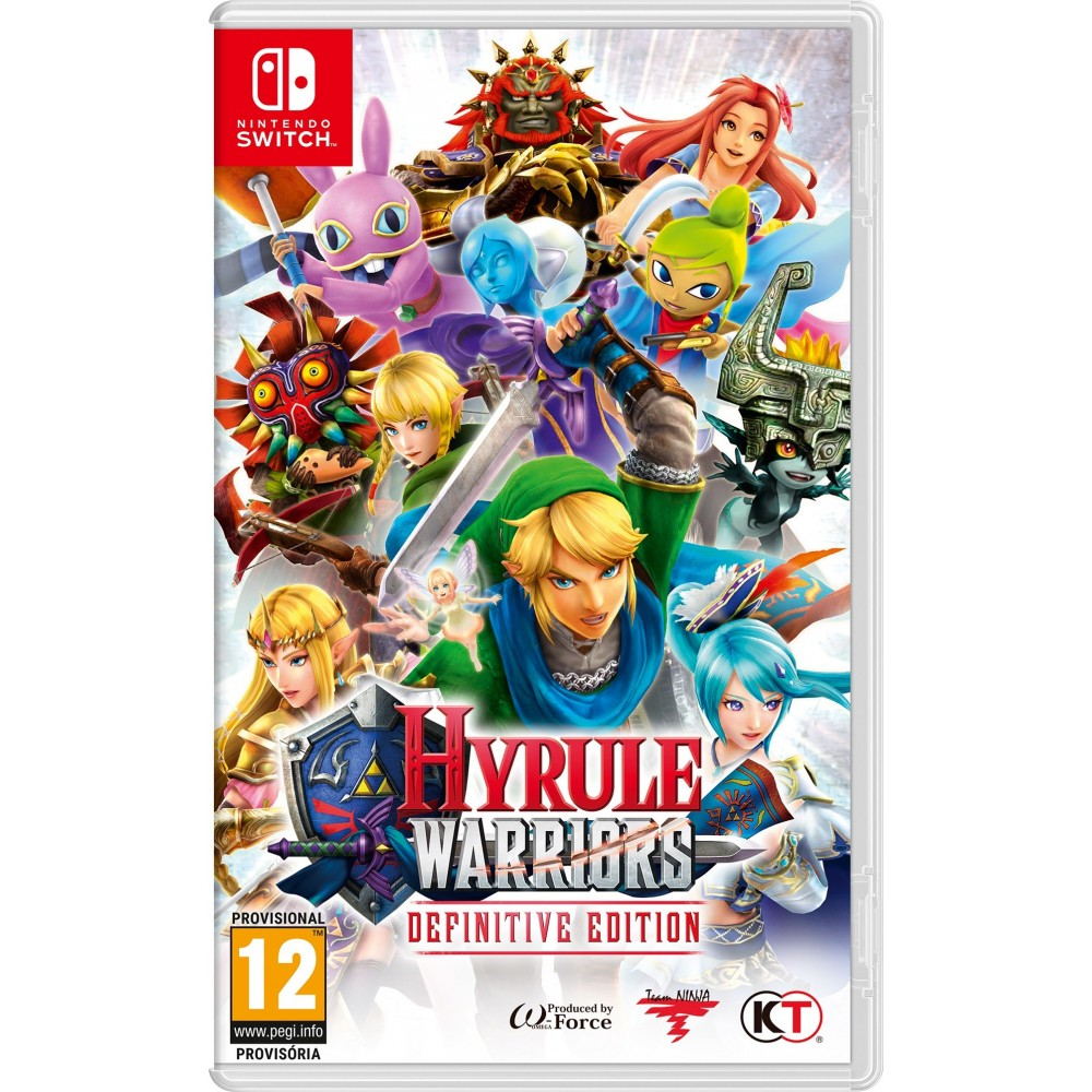 HYLURE WARRIORS DEFINITIVE EDITION SWITCH JUEGO FÍSICO PARA NINTENDO SWITCH