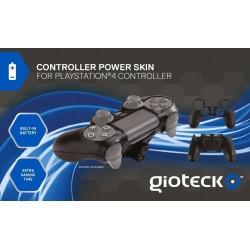 Gioteck - Controller Power Skin, Batería Incorporada, Color Negro