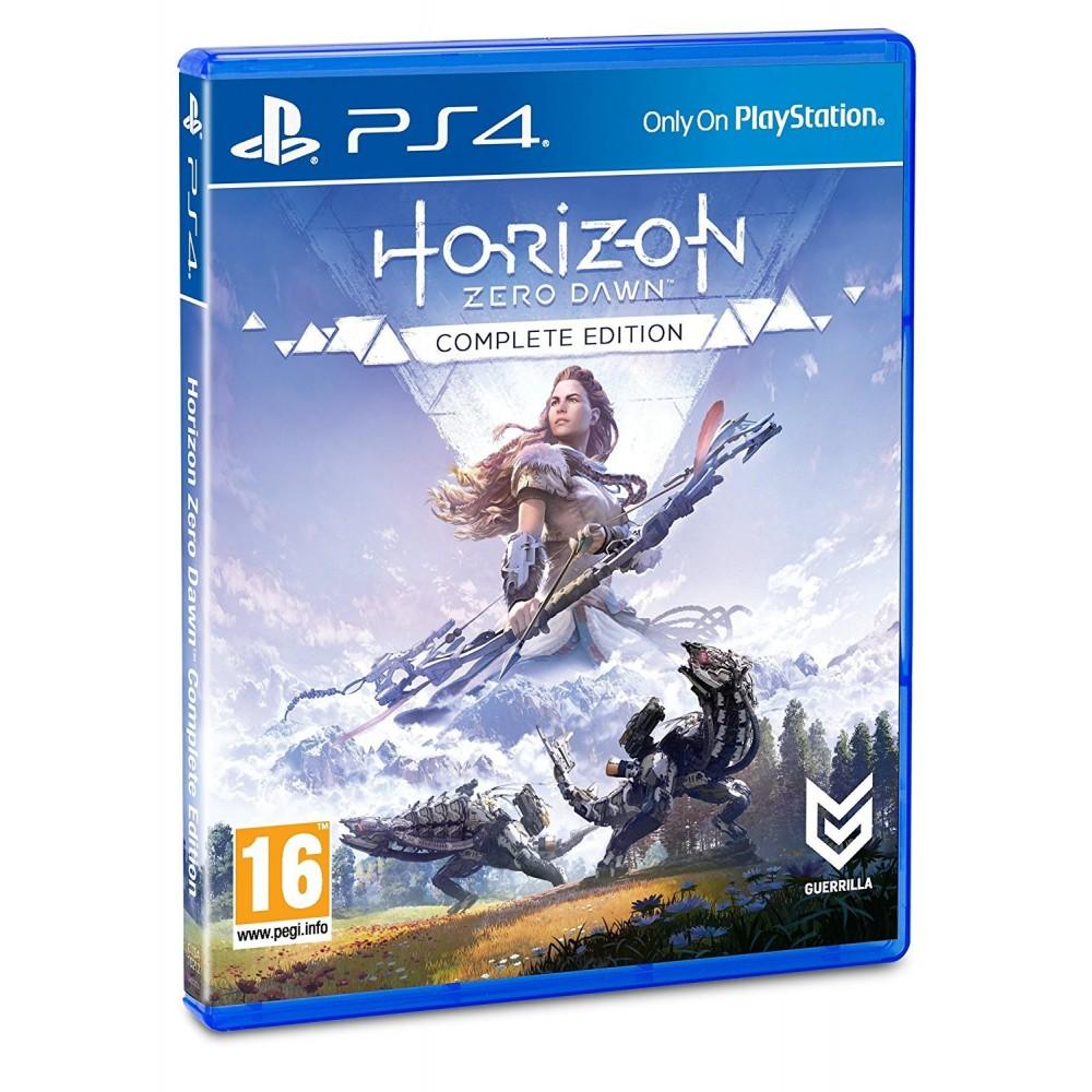 HORIZON ZERO DAWN COMPLETE EDITION JUEGO FÍSICO PLAYSTATION 4 GUERRILLA MEJORADO PS4 PRO