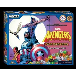 MARVEL DICE MASTERS: AVENGERS INFINITY CAMPAIGN BOX (INGLES) MINIATURAS WIZKIDS