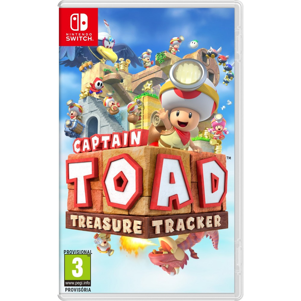 Captain Toad Treasure Tracker Switch Juego Fisico Para Nintendo