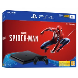 PS4 1TB + MARVEL SPIDER-MAN CONSOLA CON VIDEOJUEGO FÍSICO PLAYSTATION 4