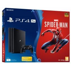 PS4 PRO 1TB + MARVEL SPIDER-MAN CONSOLA CON VIDEOJUEGO FÍSICO PLAYSTATION 4 PRO