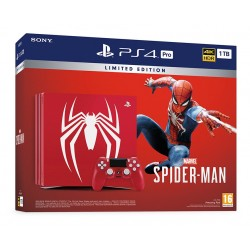 PS4 PRO 1TB EDICIÓN ESPECIAL SPIDERMAN + JUEGO FÍSICO SPIDERMAN PLAYSTATION 4