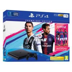 PS4 1TB CHAMPIONS EDITION + JUEGO FIFA 19 DELUXE + PSPLUS 14 DÍAS PLAYSTATION 4