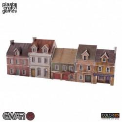 PLAST CRAFT GAMES: EWAR BUILDING SET JUEGOS ACCESORIOS MINIATURAS
