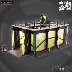 PLAST CRAFT GAMES: INDUSTRIAL GARAGE JUEGOS ACCESORIOS MINIATURAS