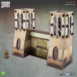 PLAST CRAFT GAMES: BOURAK CITY GATE JUEGOS ACCESORIOS MINIATURAS