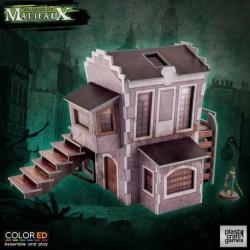 PLAST CRAFT GAMES: DOWNTOWN BUILDING - COLORED JUEGOS ACCESORIOS MINIATURAS
