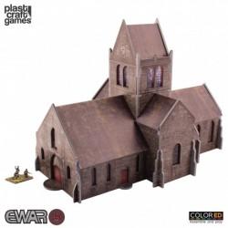 PLAST CRAFT GAMES: SAINT MÉRE ÉGLISE CHURCH JUEGOS ACCESORIOS MINIATURAS