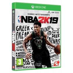 NBA2K19 XBOXONE VIDEOJUEGO FÍSICO PARA XBOXONE NBA 2K19 GIANNIS ANTETOKOUNMPO
