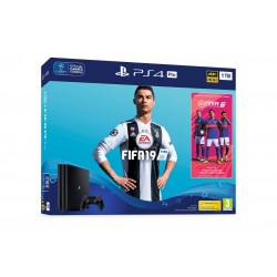 PS4 PRO 1TB + JUEGO FIFA 19 + PSPLUS 14 DÍAS CONSOLA PLAYSTATION 4 + FIFA19