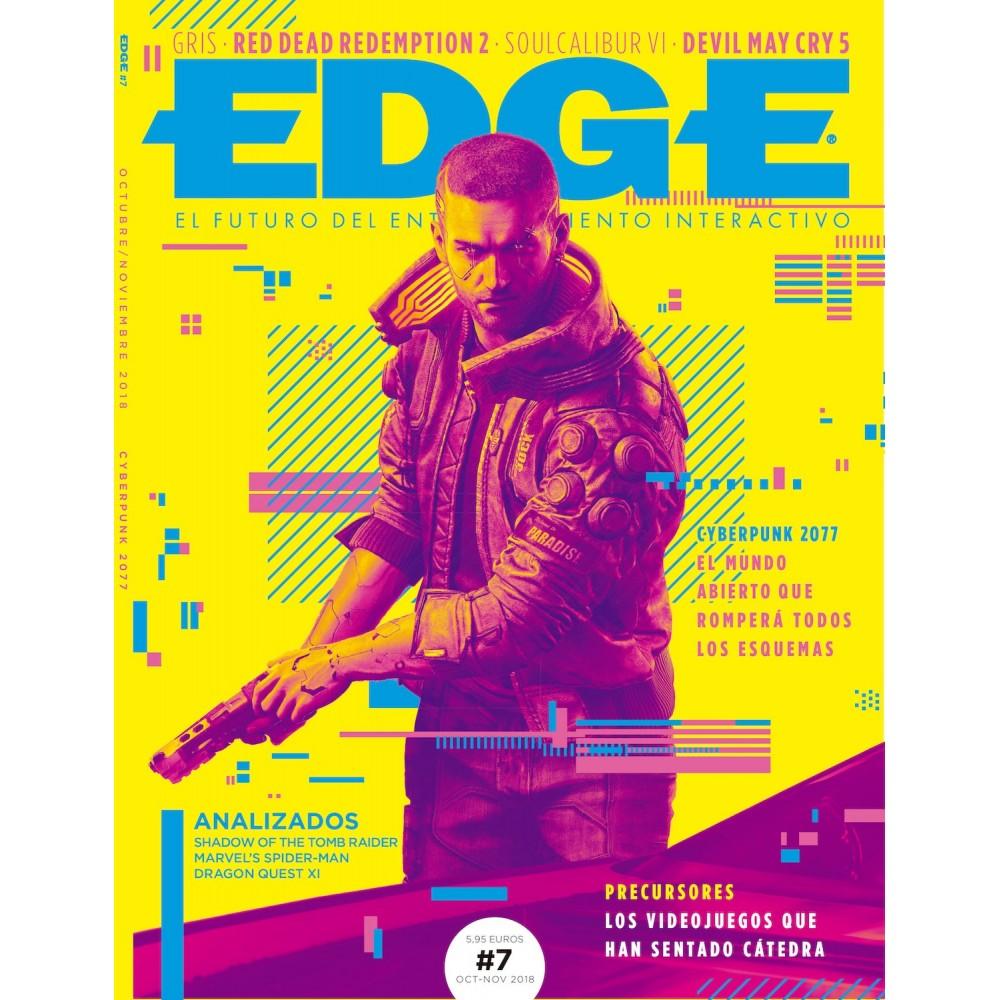 NÚMERO 7 DE LA NUEVA REVISTA EDGE ESPAÑA OCTUBRE - NOVIEMBRE 2018 CYBERPUNK 2077