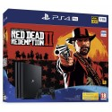 PS4 PRO 1TB + RED DEAD REDEMPTION 2 CONSOLA PLAYSTATION 4 PRO CON JUEGO