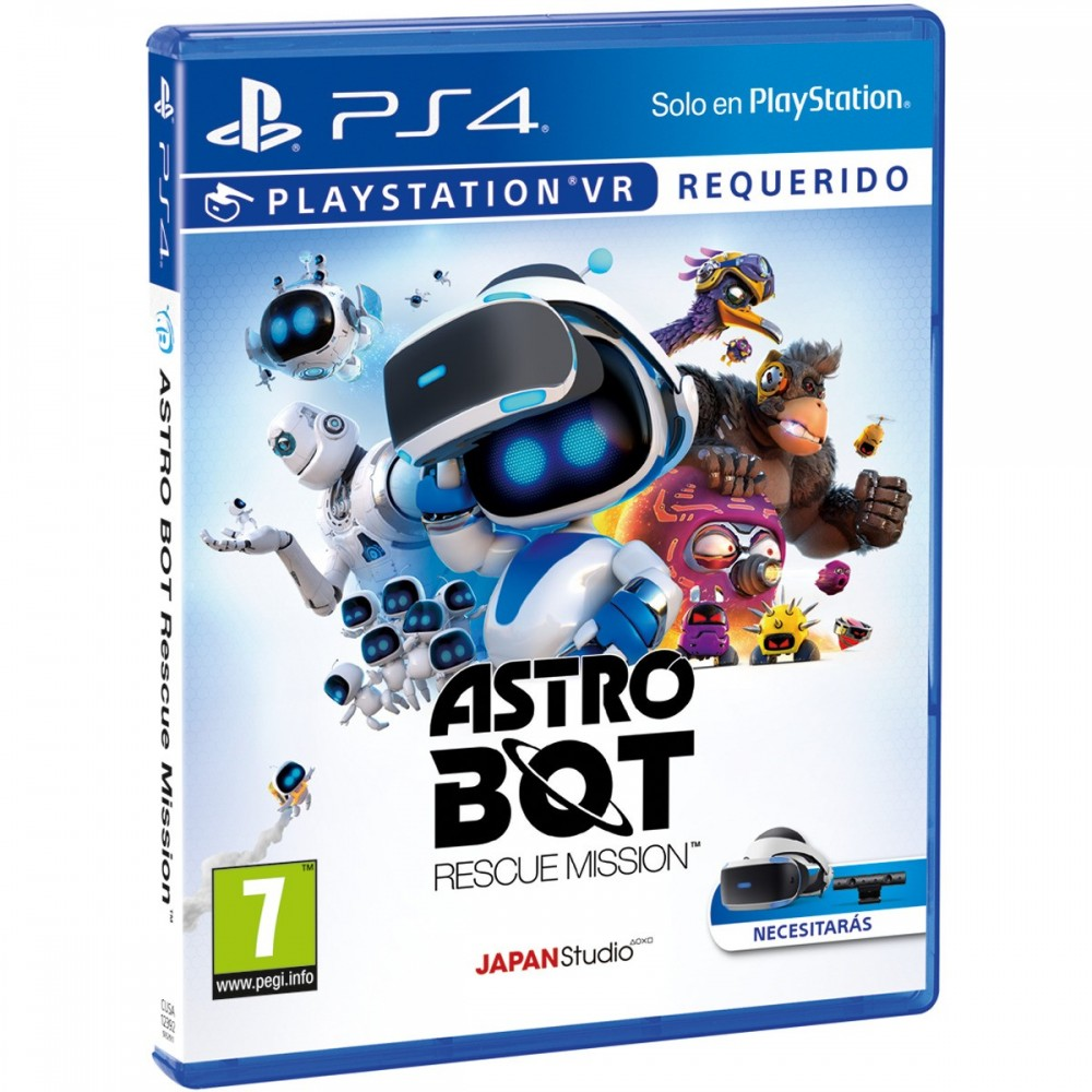Astro Bot Rescue Mission Ps4 Vr Juego Fisico Playstation Vr