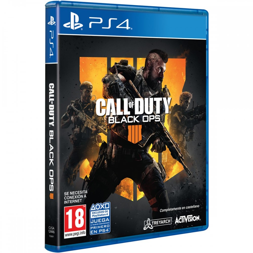 CALL OF DUTY BLACK OPS IIII PS4 JUEGO FÍSICO PLAYSTATION 4 COD BLACK OPS 4