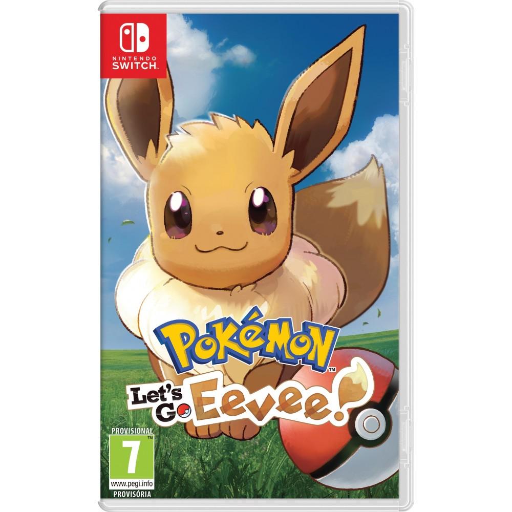Pokemon Let S Go Eevee Switch Juego Fisico Para Nintendo Switch
