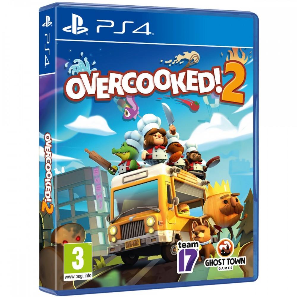 OVERCOOKED! 2 PS4 JUEGO FÍSICO PARA PLAYSTATION 4 DE TEAM 17