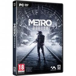 METRO EXODUS PC DVD ROM JUEGO FÍSICO PARA PC DE 4A GAMES DEEP SILVER
