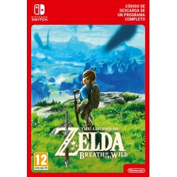 THE LEGEND OF ZELDA: BREATH OF THE WILD NINTENDO SWITCH CÓDIGO DE DESCARGA DIGITAL