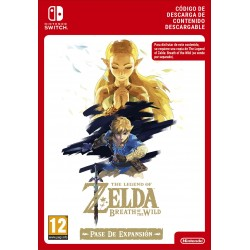 ZELDA: BREATH OF THE WILD EXPANSION PASS NINTENDO SWITCH CÓDIGO DE DESCARGA DIGITAL
