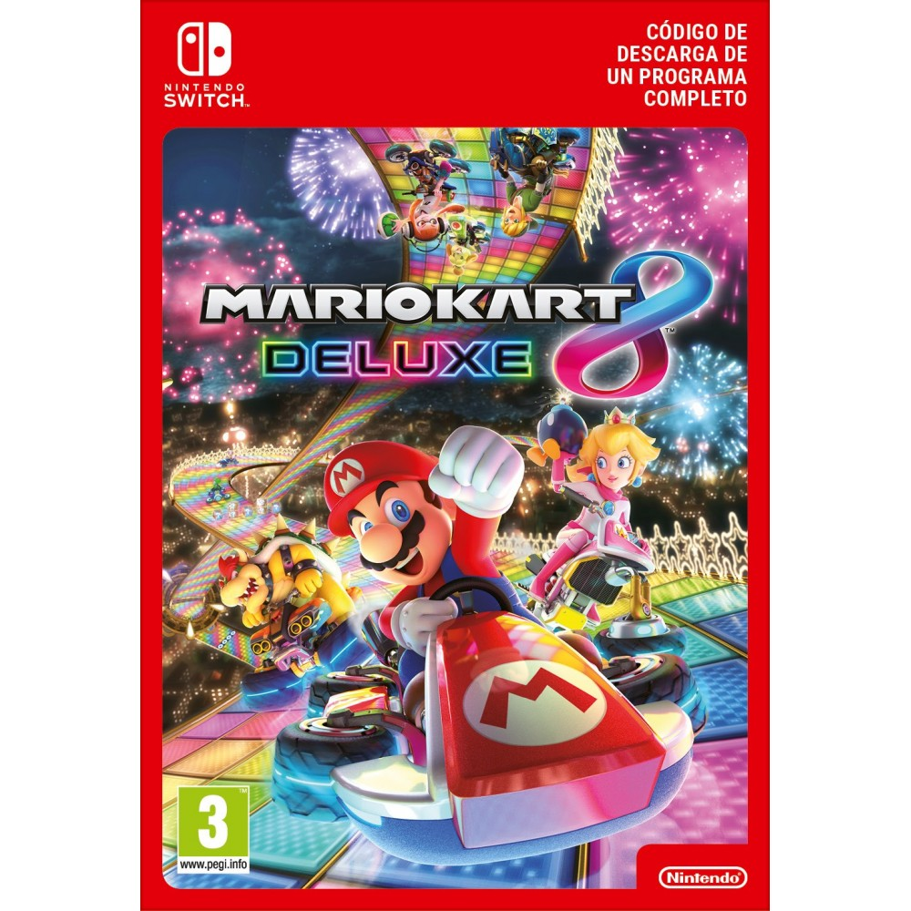 MARIO KART 8 DELUXE NINTENDO SWITCH CÓDIGO DE DESCARGA DIGITAL