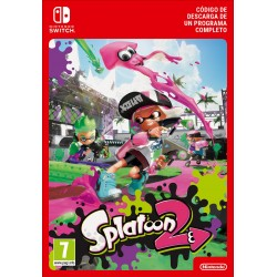 SPLATOON 2 NINTENDO SWITCH CÓDIGO DE DESCARGA DIGITAL