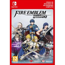 FIRE EMBLEM WARRIORS NINTENDO SWITCH CÓDIGO DE DESCARGA DIGITAL