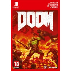 DOOM NINTENDO SWITCH CÓDIGO DE DESCARGA DIGITAL