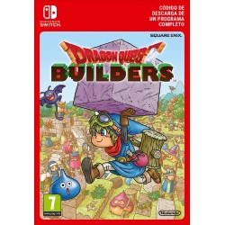 DRAGON QUEST BUILDERS NINTENDO SWITCH DIGITAL DOWNLOAD CODE