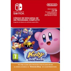 KIRBY STAR ALLIES NINTENDO SWITCH DIGITAL DOWNLOAD CODE