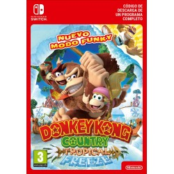 DONKEY KONG COUNTRY: TROPICAL FREEZE NINTENDO SWITCH CÓDIGO DE DESCARGA DIGITAL