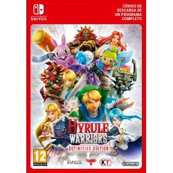 HYRULE WARRIORS DEFINITIVE EDITION NINTENDO SWITCH CÓDIGO DE DESCARGA DIGITAL