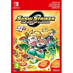 SUSHI STRIKER WAY OF SUSHIDO NINTENDO SWITCH DIGITAL DOWNLOAD CODE
