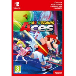 MARIO TENNIS ACES NINTENDO SWITCH CÓDIGO DE DESCARGA DIGITAL