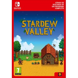 STARDEW VALLEY NINTENDO SWITCH CÓDIGO DE DESCARGA DIGITAL