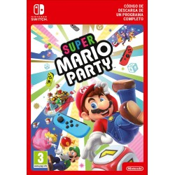 SUPER MARIO PARTY NINTENDO SWITCH DIGITAL DOWNLOAD CODE