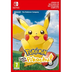 POKÉMON: LET'S GO, PIKACHU! NINTENDO SWITCH DIGITAL DOWNLOAD CODE