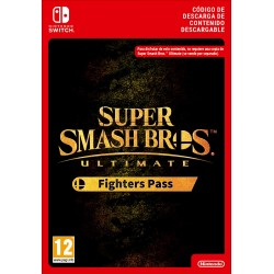 SSB ULTIMATE FIGHTERS PASS NINTENDO SWITCH CÓDIGO DE DESCARGA DIGITAL ADD-ON CONTENT