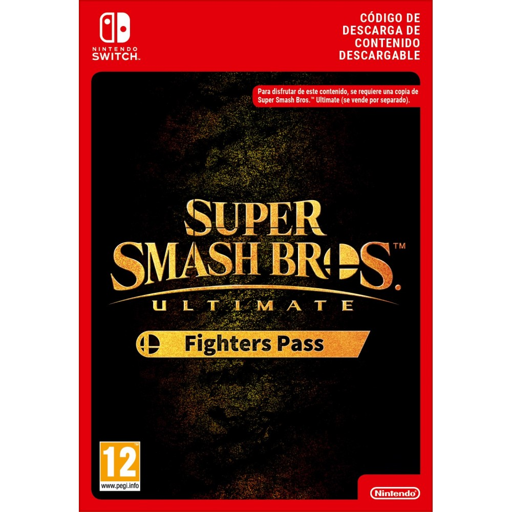 SSB ULTIMATE FIGHTERS PASS NINTENDO SWITCH CÓDIGO DE DESCARGA DIGITAL ADD-ON
