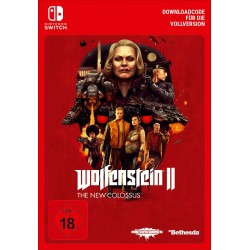 WOLFENSTEIN II: THE NEW COLOSSUS - DEUTSCHSPRACHIGE VERSION NINTENDO SWITCH DIGITAL DOWNLOAD CODE