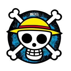ALFOMBRILLA ONE PIECE CALAVERA MERCHAN MANGA MERCHAN ONE PIECE