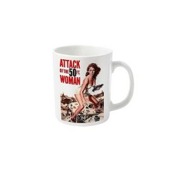 TAZA ATTACK OF THE 50FT WOMAN TAZAS CINE