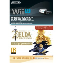 ZELDA: BREATH OF THE WILD EXPANSION PASS NINTENDO WII U DIGITAL DOWNLOAD CODE ADD-ON CONTENT