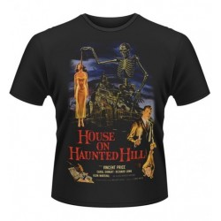 CAMISETA HOUSE ON HAUNTED HILL XXL CAMISETAS CINE