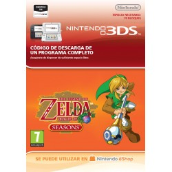 THE LEGEND OF ZELDA: ORACLE OF SEASONS NINTENDO 3DS CÓDIGO DE DESCARGA DIGITAL VIRTUAL CONSOLE